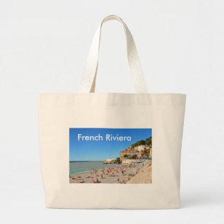 Agradável. Riviera francês Sacola Tote Jumbo