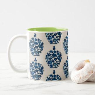 Agrida para o café, chá com design do frasco do caneca de café em dois tons