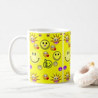 agride crianças caneca de café
