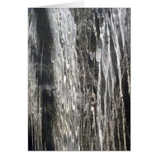 Água - arte abstracta - cartão