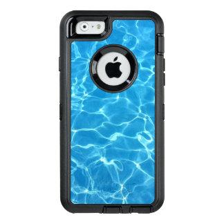 Água azul Sparkling da piscina