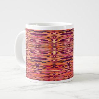 Água do fogo grande copo de café enorme da caneca