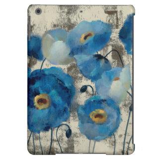 Água-marinha floral capa para iPad air