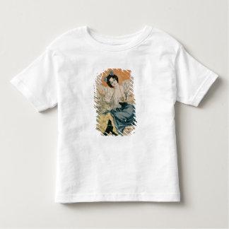 Água mineral natural f de Brault da propaganda de T-shirt