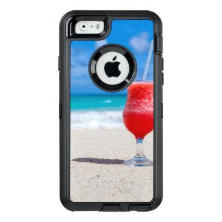 Água tropical de turquesa da praia da bebida do