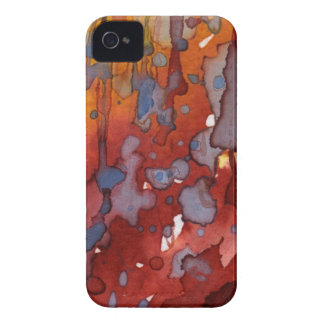 aguarela 7 do fundo capas para iPhone 4 Case-Mate