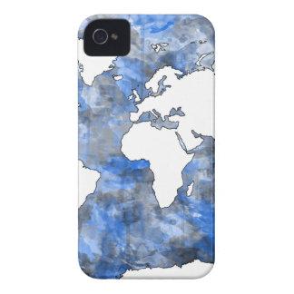 aguarela 7 do mapa do mundo capa para iPhone