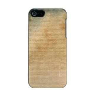aguarela cinza-azul 7 do fundo capa incipio feather® shine para iPhone 5