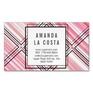 Aguarela cor-de-rosa moderna dos cartões