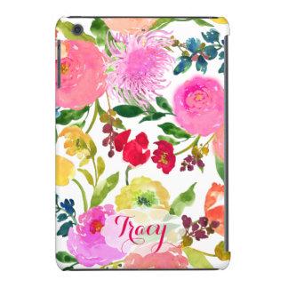 Aguarela floral/ranúnculo de PixDezines DIY Capa Para iPad Mini Retina