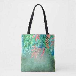 Aguarela Tropicals por todo o lado no bolsa