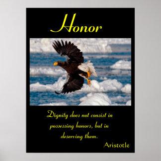 Águia 11 dos posters da honra