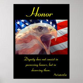 Águia 13 dos posters da honra