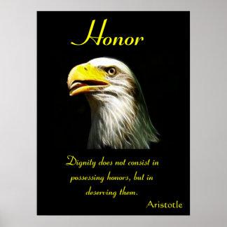 Águia 19 dos posters da honra