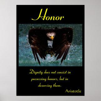 Águia 20 dos posters da honra
