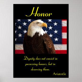 Águia 3 dos posters da honra