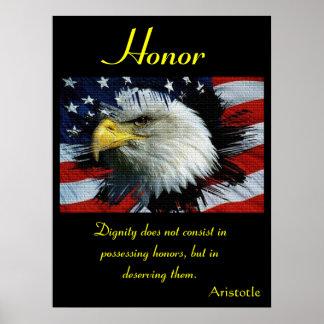 Águia 5 dos posters da honra