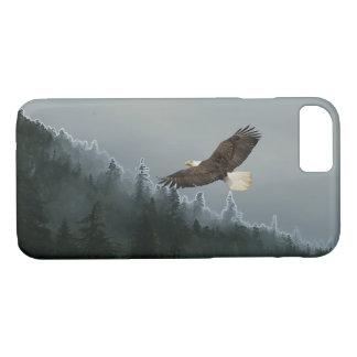 Águia americana crescente & caso do Alasca do Capa iPhone 7