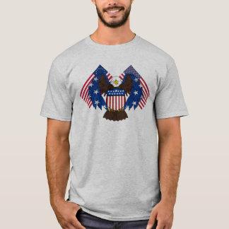 Águia americana da liberdade camiseta