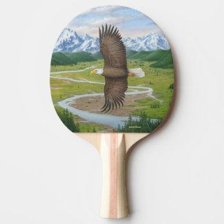 Águia americana raquete para ping pong