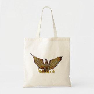 Águia dourada mexicana bolsa de lona