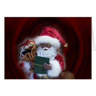 Ah, cartão de Natal do papai noel