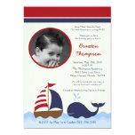 Ahoy convite náutico do aniversário do barco da