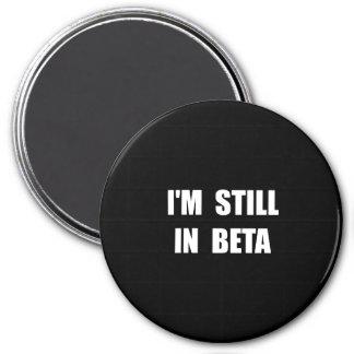 Ainda em beta ímã redondo 7.62cm