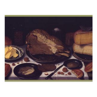 Ainda pequeno almoço Schooten da vida Cartão Postal