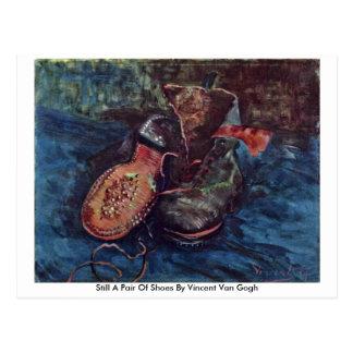 Ainda um par de sapatos por Vincent van Gogh Cartoes Postais