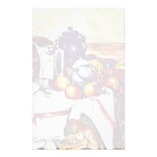 Ainda vida por Paul Cézanne (a melhor qualidade) Papelaria