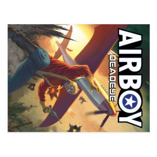 Airboy: Cartão do cobrir de Deadeye #1