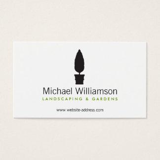 Ajardinando, cartão de visita de jardinagem do