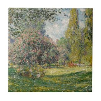 Ajardine o Parc Monceau - Claude Monet