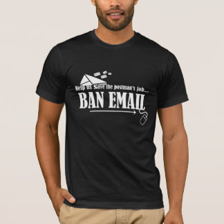 Ajude-nos a salvar a camisa do email da proibição