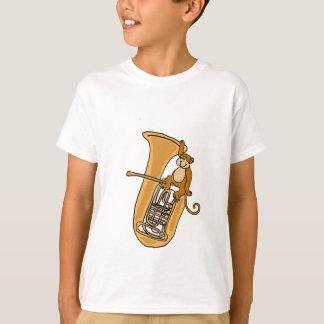 AK- camisa do macaco e da tuba