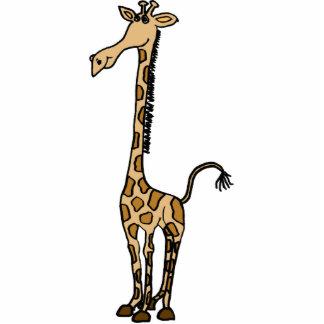 AK- escultura lunática da foto do girafa Foto Escultura