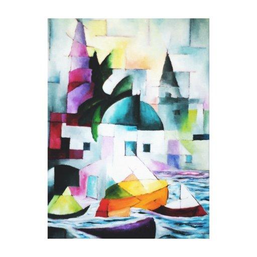 Akko Impressão Em Tela Canvas