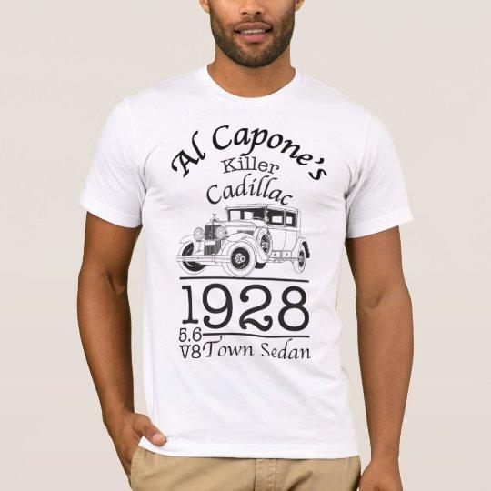 Al Capone 1928 Cadillac Camiseta