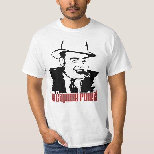 Al Capone Rules Camiseta