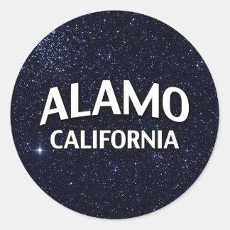 Alamo Califórnia Adesivo