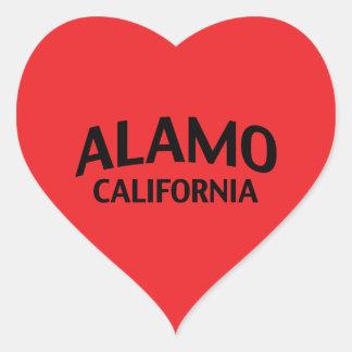 Alamo Califórnia Adesivo Coração