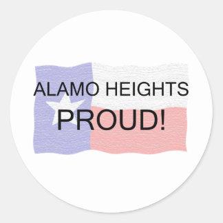 Alamo Heights orgulhoso Adesivo