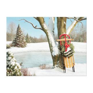 """Alan Giana """"inverno sonha"""" o impressão das canvas"""