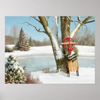"""Alan Giana """"inverno sonha"""" o poster"""