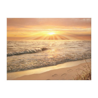"""Alan Giana """"pegadas impressão das canvas na areia"""""""