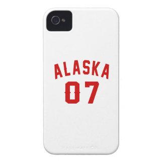Alaska 07 designs do aniversário capas para iPhone 4 Case-Mate