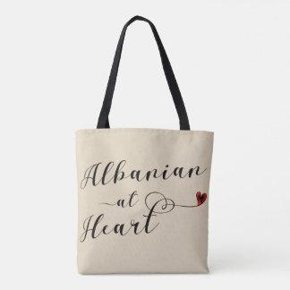 Albanês na bolsa de compra do coração, Albânia