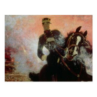 Albert mim rei dos belgas no primeiro mundo cartão postal