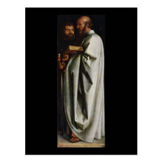 Albrecht Durer os quatro apóstolos endireita o pai Cartao Postal
